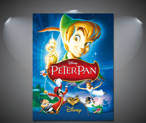 A4 sizes A2 A3 Peter Pan Vintage Movie Poster 1 A1