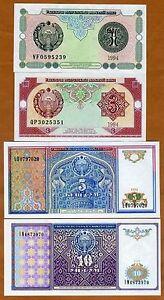 Uzbekistan P 73-1 Sum 1994 UNC