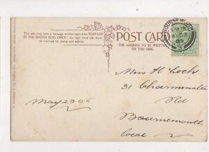 Miss H Loch Charminster Road Bournemouth 1905 497b - Aberystwyth, United Kingdom - Miss H Loch Charminster Road Bournemouth 1905 497b - Aberystwyth, United Kingdom
