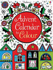 Advent Calendar to Colour by Usborne Publishing Ltd (Hardback, 2011)