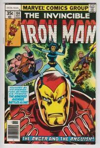 Invincible-Iron-Man-104-Marvel-Comics-1977-Very-Fine-8-0