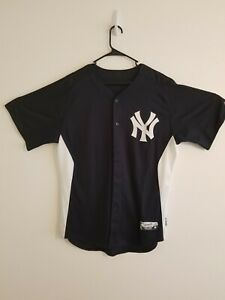 new styles ba329 a0f64 Details about New York Yankees Spring Training Jersey 99 Majestic Authentic  Collection Size 46