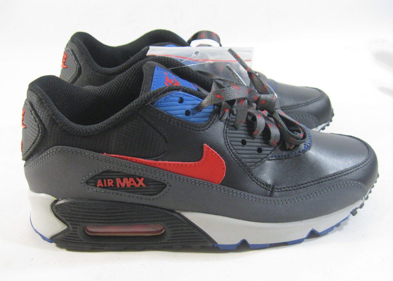 Νέο Nike Air Max 90 307793-030 Μαύρο / Κόκκινο-Σκούρο Γκρι-ΞœΟ€Ξ»Ξ΅ ούνιορ ΞœΞΞ³Ξ΅ΞΈΞΏΟ' 5.5