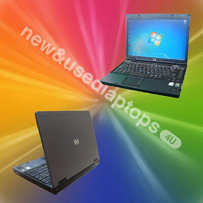 FAST Windows 7 CHEAP HP Compaq NC6400 Laptop Dual Core Warranty Office WIRELESS