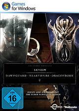 The Elder Scrolls V 5 Skyrim - Dawnguard Hearthfire Dragonborn für PC | CD KEY |