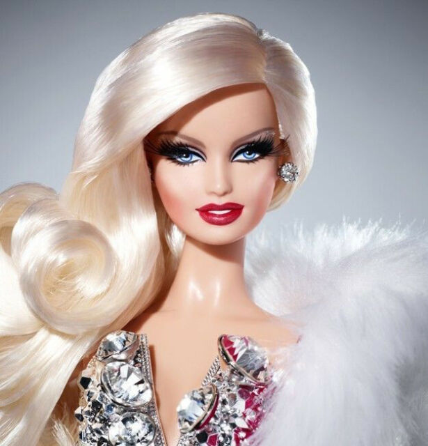 Black Label BNIB Barbie Basics Look No Barbie Collector 01 Collection RED