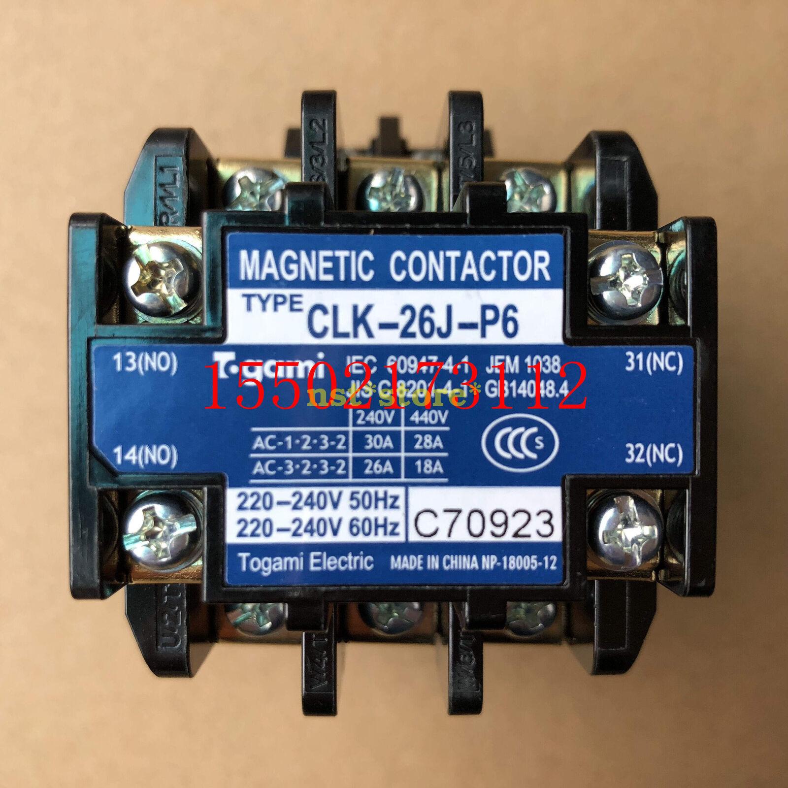 1PCS for DAIKIN CLK-26J-P6 220V alternating current contactor