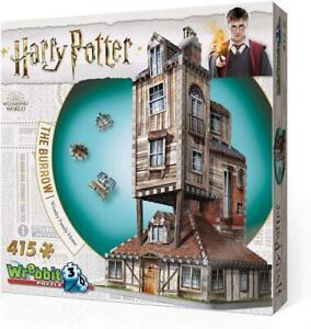 Wrebbit-Puzzle-3D-Harry-Potter-representant-Le-Terrier-la-Maison-des