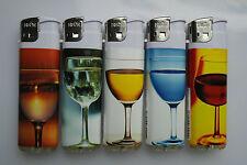 50 Elektronik Feuerzeuge Wein Sekt gläser Feuerzeug Nachfüllbare Gasfeuerzeuge N
