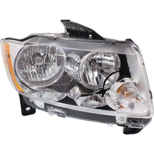 Halogen Head Lamp Assembly Set of 2 Pair LH /& RH Side Fits Jeep Grand Cherokee