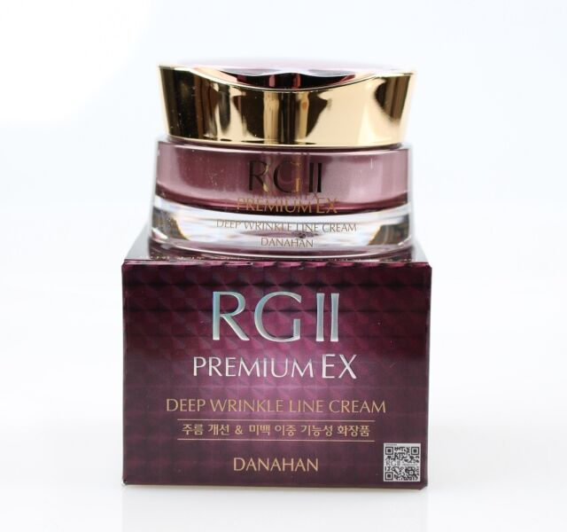 Danahan RGII Premium EX Deep Wrinkle Line Cream 35ml Free Shipping & Tracking