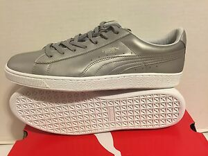 a0dbf7c5c05a94 Image is loading PUMA-BASKET-CLASSIC-METALLIC-Men-039-s-LIFESTYLE-