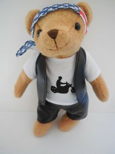 Fun-Company-Motorcycle-Plush-Biker-Bear-Teddy-MP4766
