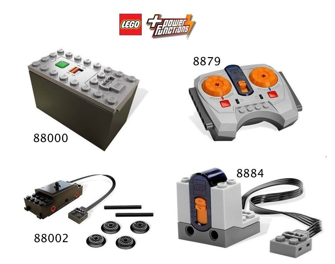 LEGO® City Eisenbahn Power Functions Set 88002,8879,8884,88000 NEU