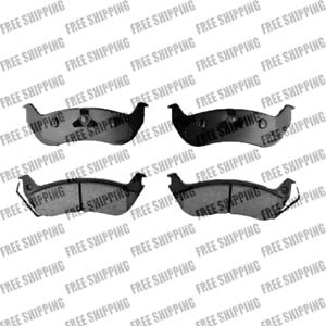 Replacement 4 Rear Brake Pad Ceramic Pads For Mercury Grand Marquis Marauder