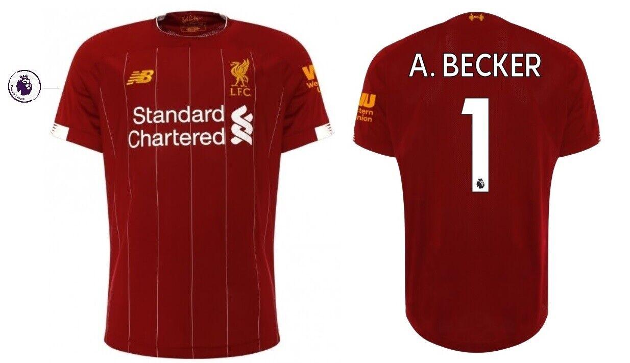 Trikot New Balance FC Liverpool 2019-2020 Home PL - A. Becker 1