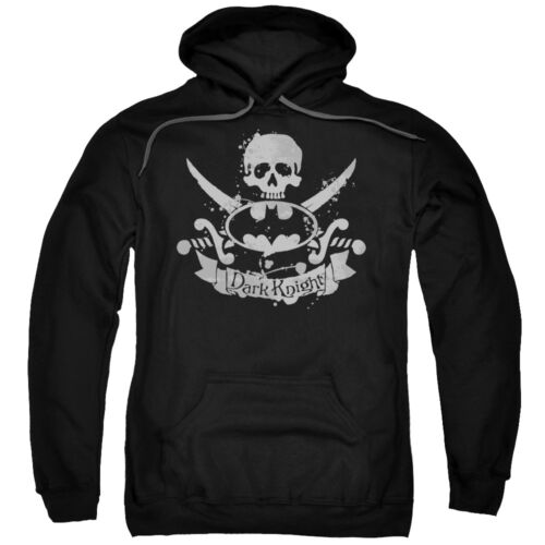 Batman DARK PIRATE Jolly Roger Skull Crossbones Licensed Sweatshirt Hoodie