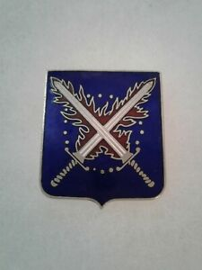 Authentic-US-Army-55th-Infantry-Regiment-Unit-Crest-DI-DUI-Insignia-NH