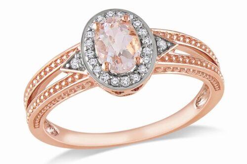 18 quilates chapado Rose gold//925 anillo de señoras plata Hm Regalo Para Su Amor Mujer Madre