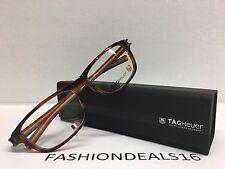 d7e04e1245 item 5 New Tag Heuer w TAGS 7605 Track S Havana Orange TH7605 002 56mm  Eyeglasses -New Tag Heuer w TAGS 7605 Track S Havana Orange TH7605 002 56mm  ...