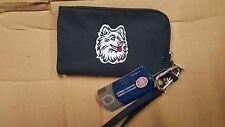 UConn Huskies Connecticut ID Wallet Wristlet Cell Phone Case Charm 14 Purse