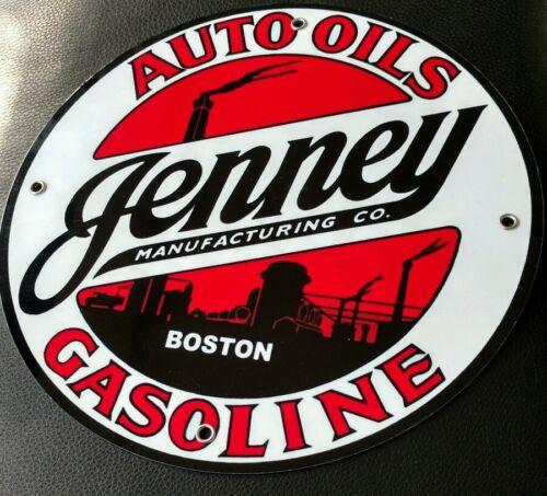 Jenney Gas Oil gasoline sign