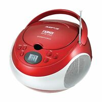 Naxa Electronics Portable Mp3/cd Player With Am/fm Stereo Radio... Free Shipping