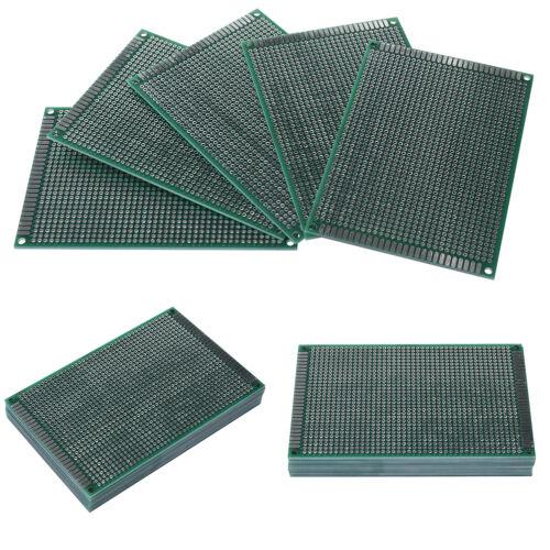 8x12cm Double side Protoboard  Circuit Tinned Universal Prototype PCB Board PVCA