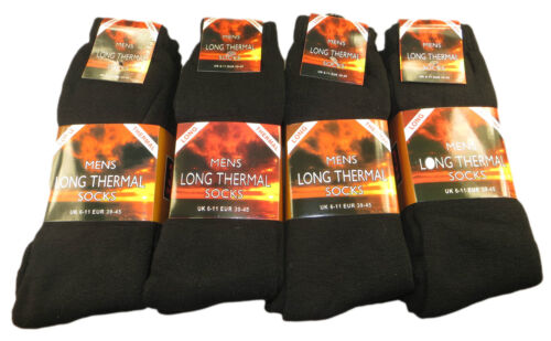6-11 Outdoor Warm Work Boot Socks Ultimate 6 Pairs Men/'s Long Thermal Socks