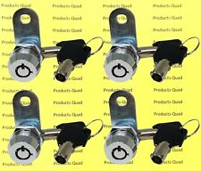 4 Keyed Alike Tubular Cam Lock 58 Rv Camper Drawer Toolbox Removable Key