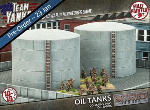 BB190 Team Yankee Entièrement neuf dans sa boîte réservoirs à huile x2