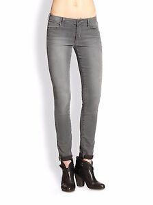 Stretch Grigio Con Nuova Rolled Midrise Etichetta The Joe's Skinny Sz26 Jeans Tqa6x