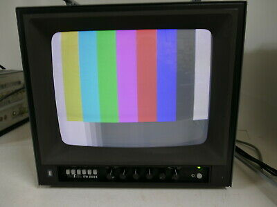 """Delizioso Ivitec Itm-2000b 14"""" Inch Studio Broadcast Video Monitor Rgb, 2x Video In Arrow 893- Pacchetti Alla Moda E Attraenti"""