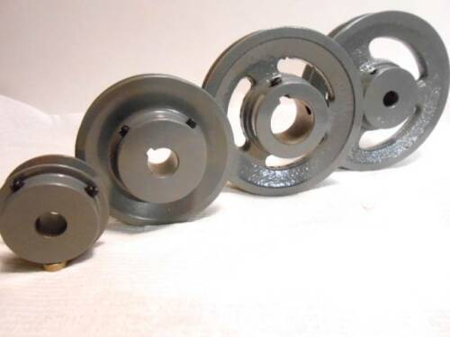 """4/"""" 3.95/"""" NEW Cast Iron Pulley  All Bore Sizes for 1//2/"""" wide V belt"""
