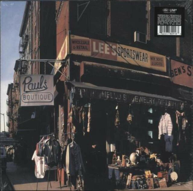 THE BEASTIE BOYS **Paul's Boutique *NEW CLEAR PURPLE RECORD LP VINYL