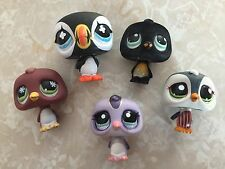 Littlest Pet Shop RARE Penguin #654 333 1085 761 1494 Christmas Lot