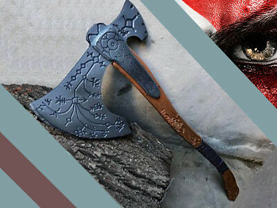 God Of War Kratos Axe Life Size Prop Cosplay 1 1 Replica Unique Ebay