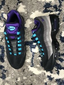 Nike-Air-Max-95-LV8-Black-Grape-OG-Court-Purple-Teal-Men-s-Size-9-5-AO2450-002