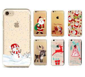 low priced 78486 c8d1f Details about Christmas Festive Santa Reindeer Phone Case Cover Gift for  iPhone 8 / 8 Plus UK