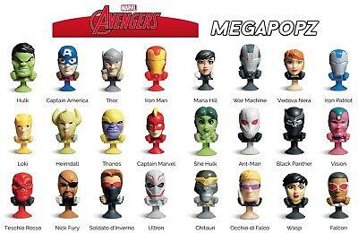 Carrefour Collezione Megapopz Marvel Avengers 2016