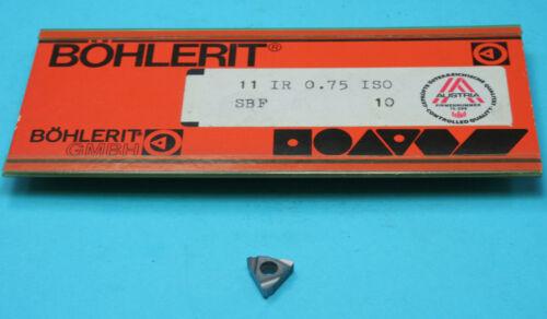 Internal Carbide Thread Insert 11IR 0.75 P25