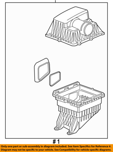GM OEM Air Cleaner Intake-Filter Box Housing 23234980