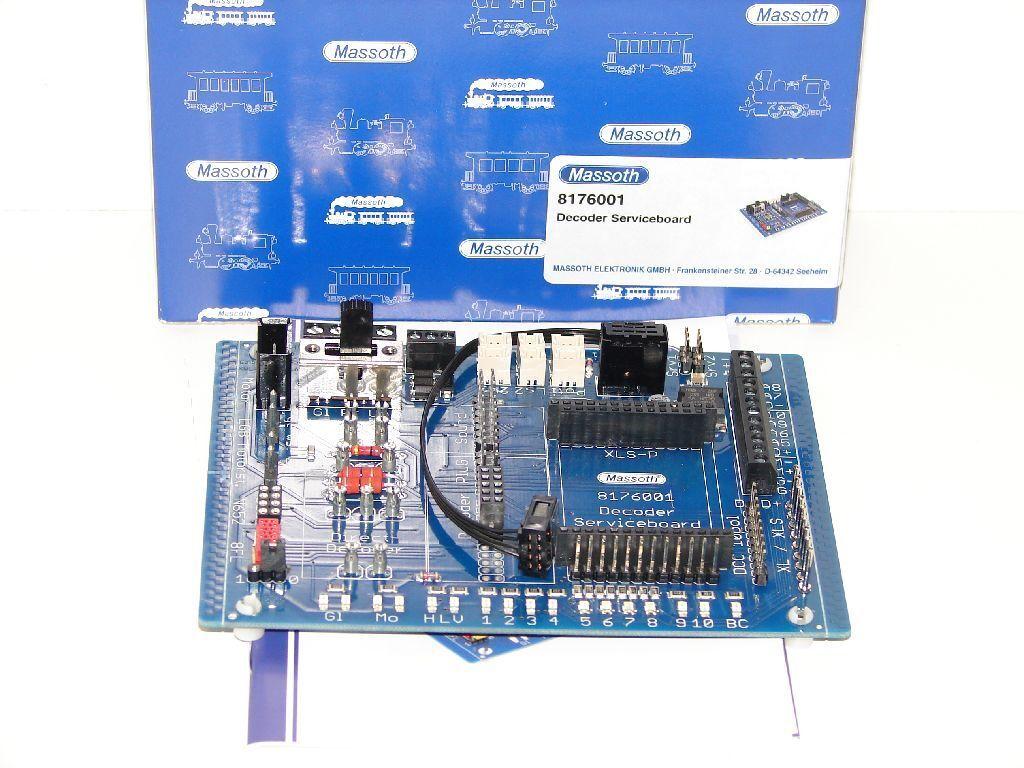 Massoth 8176001 - Decoder Serviceboard   Neuware