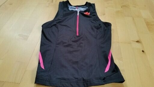 CASTELLI women FREE TRI SINGLET Top Sleeveless Jersey , size S ,J303(U)