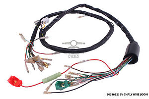 new 6v wire harness for honda chaly cf50 cf70 6v image is loading new 6v wire harness for honda chaly cf50