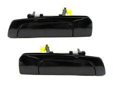 Galant/Mirage/Eclipse, Sebring Outside Door Handle, Smooth Black, Rear PAIR