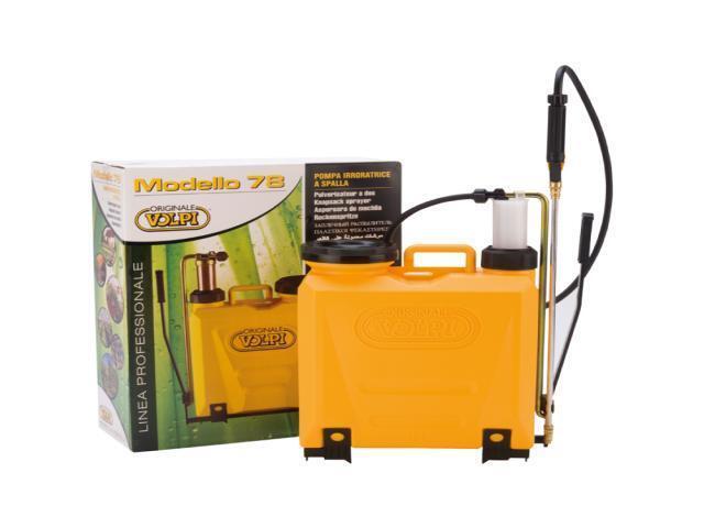 Pompa irroratrice in ottone a zaino serbaotio 15 litri codice 78UG marca VOLPI