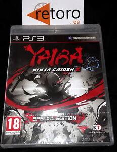 YAIBA-NINJA-GAIDEN-Z-Special-Edition-XBOX-360-PAL-NUEVO-Precintado-Team-Ninja