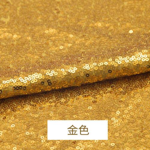 3mm Glitter Pailletten Stoff Stretch Material Sparkle Matt Pailletten 130cmBreit