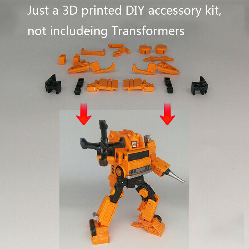 Transformers War for Cybertron Siege iGear Impactor Add on kit 18pcs a set 3D